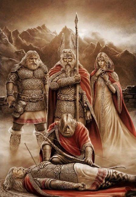 Скандинавская мифология: Боги и миры Иггдрасиля